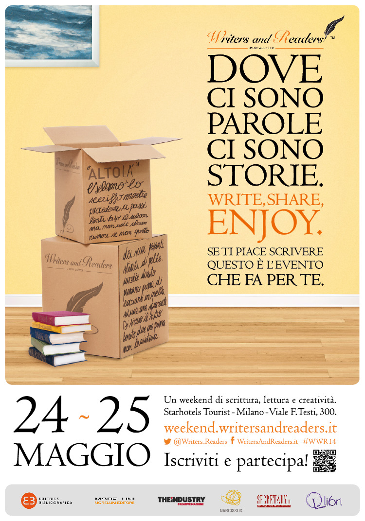 Weekend Writers and Readers 24-25 Maggio 2014