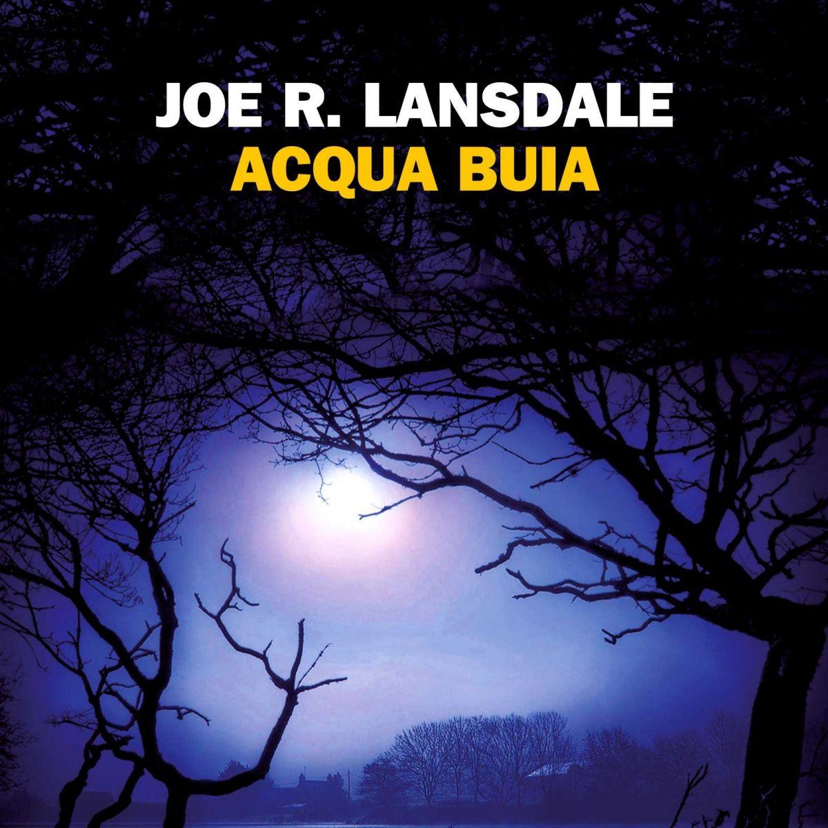 Copertina libro Acqua buia di Joe R. Lansdale